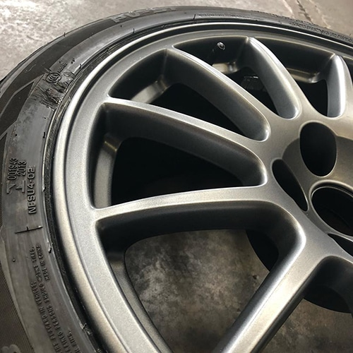 Alloy Wheel Repair Scotland | After Refurbishment Image