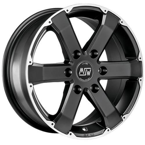 msw urbancross msw 46 matt black full polished