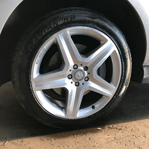 Alloy Wheel Repair in Scotland | After Image