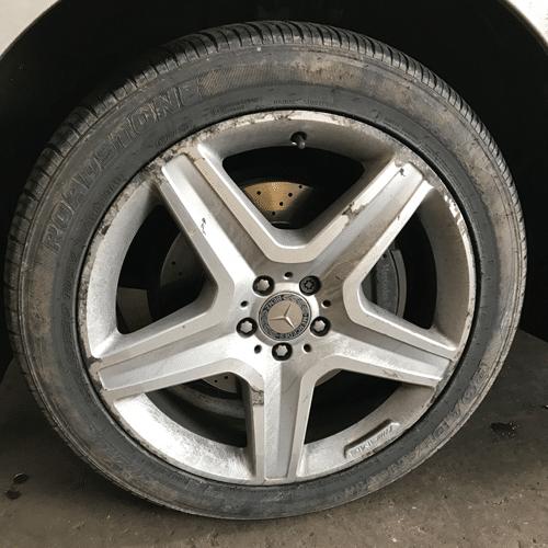 Alloy Wheel Refurbishment in Scotland | Before Refurbishment Image